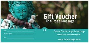 Thai Yoga Massage voucher